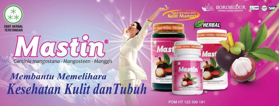 mastin jamu borobudur 100 kapsul ekstrak kulit manggis