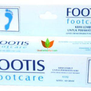 Footis Footcare Jamu Borobudur 60gr