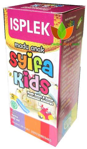 ISPLEK Madu Anak Syifa Kids Herbal Indo Utama 100 ml