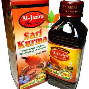 Sari Kurma Al Jazira Premium Amal Mulia Sejahtera 360gr