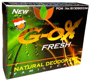 New G OX Fresh Natural Deodorant An Naufa 50Gr