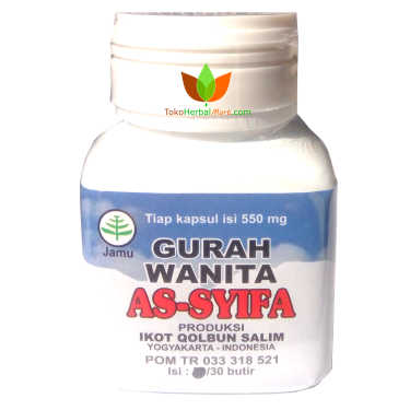 Kapsul Gurah Wanita Assyifa - Toko Herbal Mart Bandung