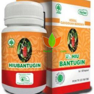 HIU Bantugin Herbal Indo Utama 60 Kapsul