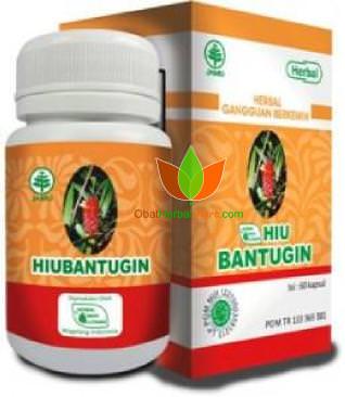 HIUBantugin Herbal Indo Utama 60 Kapsul