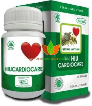HiuCardiocare Herbal Indo Utama 60 Kapsul