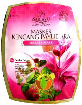 Masker Kencang Payudara (Breast Mask) Sariayu Martha Tilaar