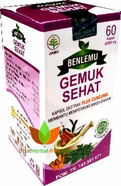 obat gemuk sehat benlemu al ghuroba toko obat herbal