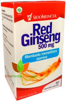 Red Ginseng Sido Muncul 30 Kapsul Ekstrak
