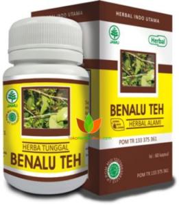 Benalu Teh Herbal Indo Utama 60 Kapsul - Toko Herbal Mart Bandung