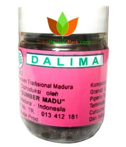 Dalima PJ Sumber Madu 100 Pil - Toko Herbal Mart