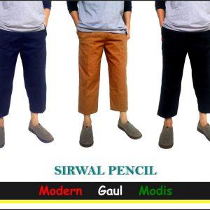 Celana Sirwal Pensil Keren, Modern, Gaul, Modis Untuk Sholat & Segala Aktifitas