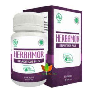 Herbamor Keladi Tikus Plus Herbal Indo Utama 60 Kapsul - Toko Herbal Mart