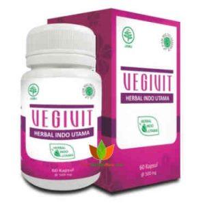 Vegivit Herbal Indo Utama 60 Kapsul - Toko Herbal Mart