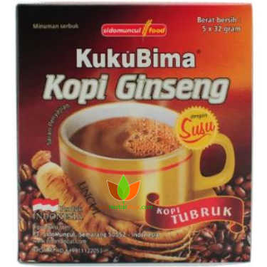 Kuku Bima Kopi Ginseng Sidomuncul 10 Box (50 Sachet) 2 - Toko Herbal Mart