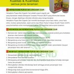 Nutrend Herbafarm Bio Organic Fertilizer (Pupuk Bio Organik Cair) Sidomuncul 1 Liter