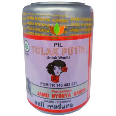 Tolak Putih Jamu Nyonya Karsih 250 pil - Toko Herbal Mart