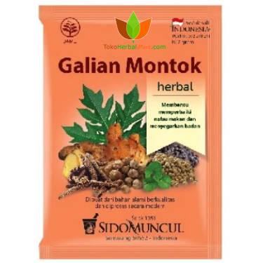 Galian Montok Sidomuncul 10 Sachet - Toko Herbal Mart
