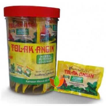Permen Tolak Angin Toples 20 Sachet (100 butir) - Toko Herbal Mart