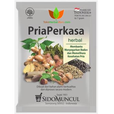 Pria Perkasa Sidomuncul 10 Sachet - Toko Herbal Mart